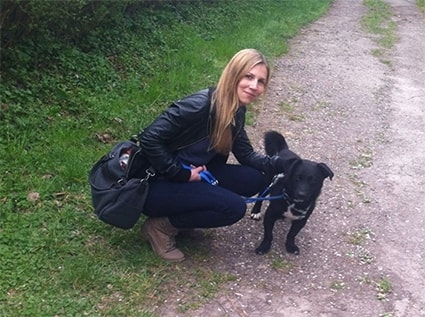 Nadine in Reutlingen back image