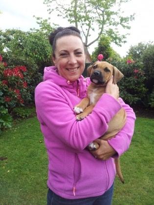 Vicki in Christchurch back image