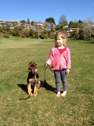 Melanie in Rotorua back image