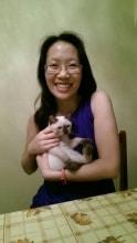 Yolande in Singapore back image