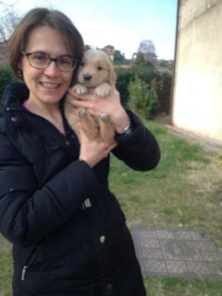 Katia in Brussel back image
