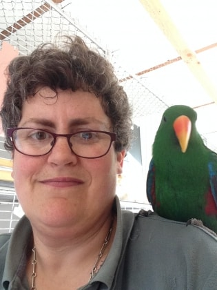 Sarah in Christchurch back image