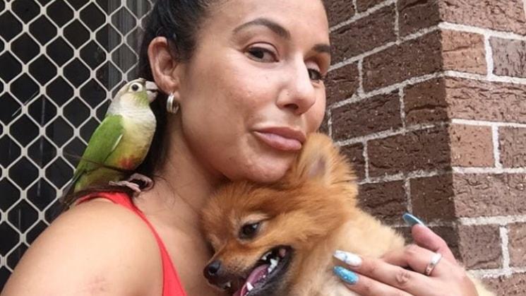 Vanessa in Casula back image
