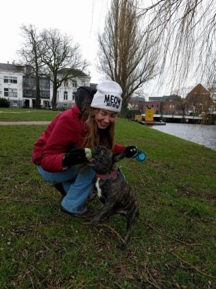 Suzy in Leiden back image