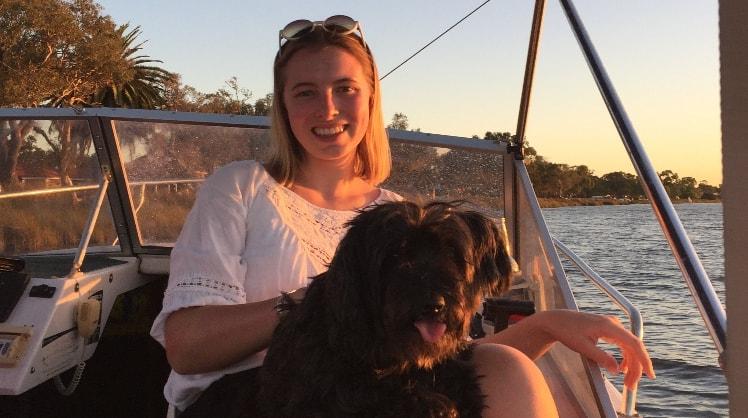 Sasha in Perth back image