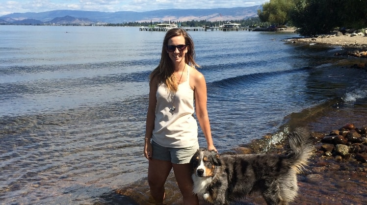 Lora in Kelowna back image