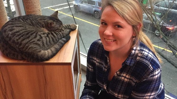 Stefanie in Port moody back image