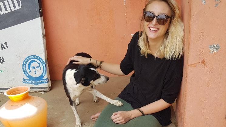 Jenny in British columbia back image