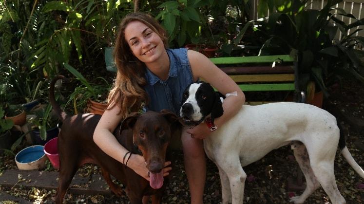 Kate in Brisbane back image