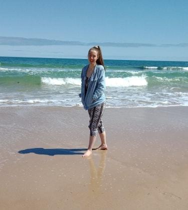 Natasha in Adelaide back image