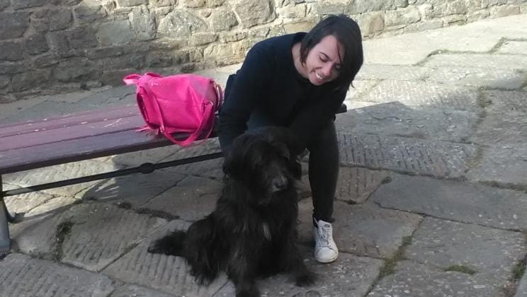 Daniela a Livorno back image