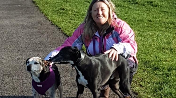 Jackie in Landford back image