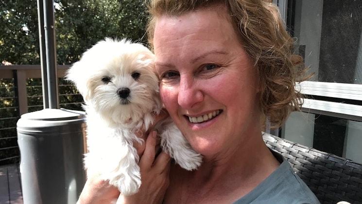 Vicki in Canberra back image