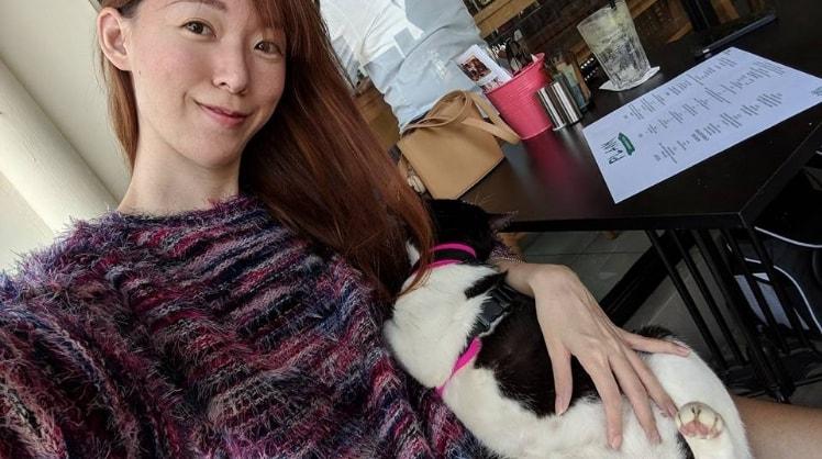 Jenny in Singapore back image
