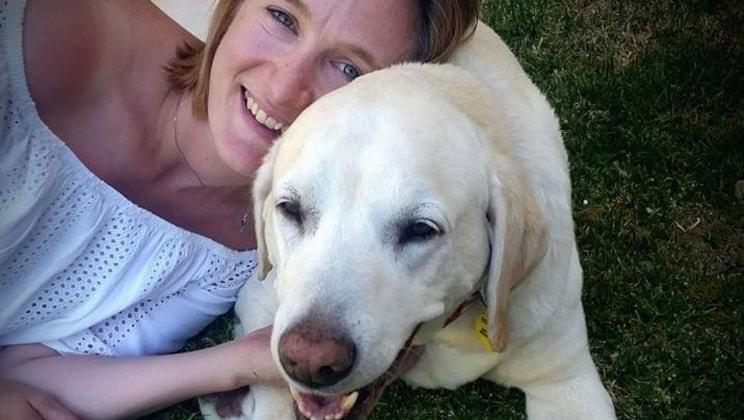 Jen in Canberra city back image