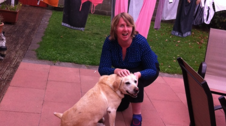 Bernadette in Clonsilla,dublin back image