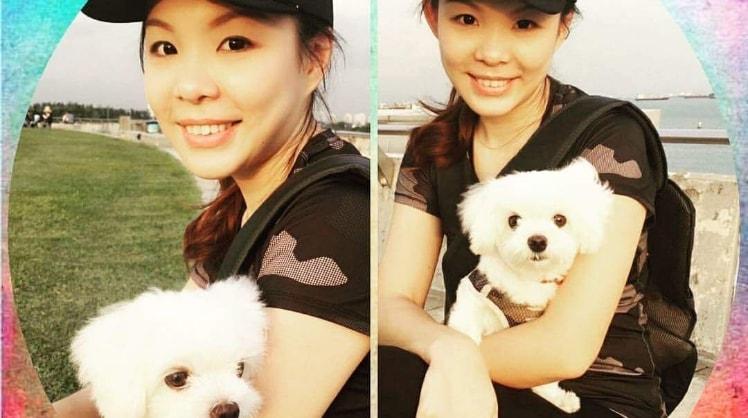 Chloe in Singapore back image