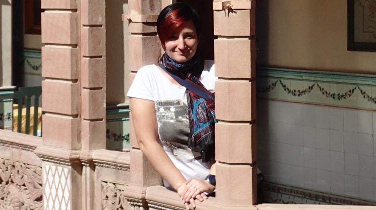Irina in Bochum back image