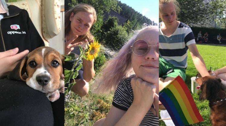 Live og Sigurd i Trondheim back image