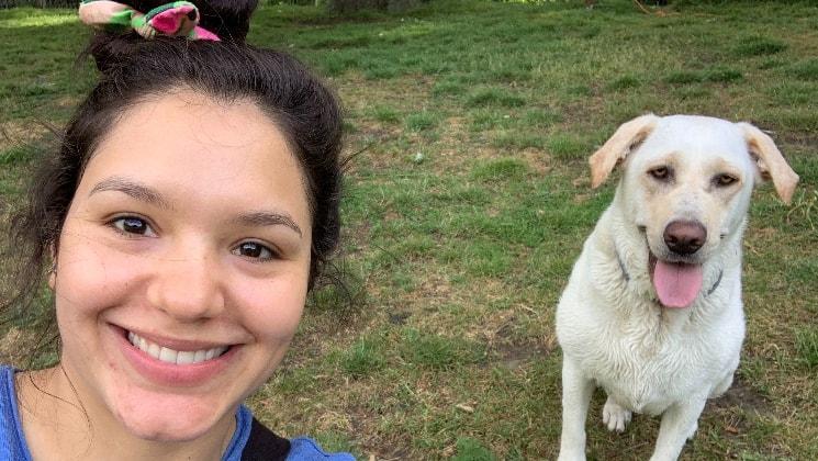 Daniela in 2018 back image