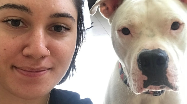 Tayla in Melbourne back image