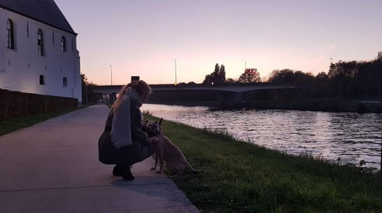 Lisa in Oudenaarde back image