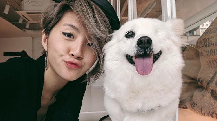 Ashley in Hong kong back image