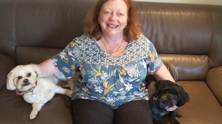 Sharon in Weetangera back image