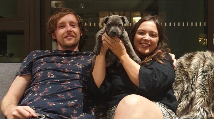 James&Sarah in Sydney back image