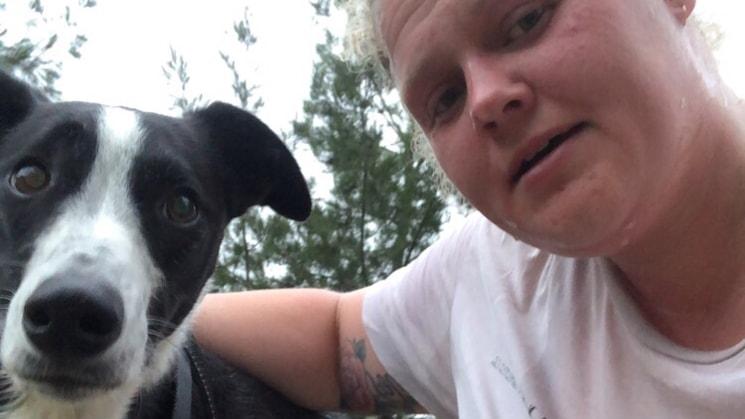 Tegan in Canberra back image