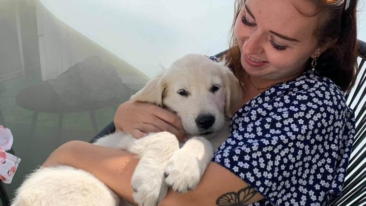 Emily in Dudzele back image