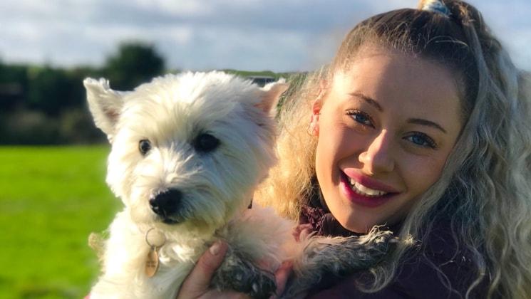 Georgie in Poole back image
