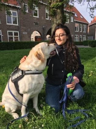 Sandra in Groningen back image
