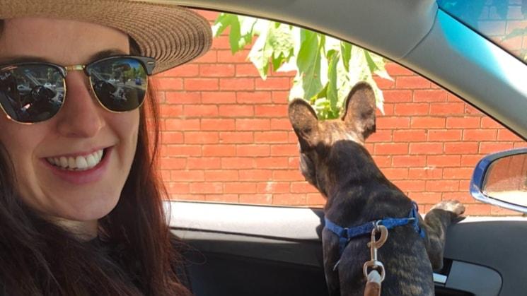 Karlos and Eva in Melbourne back image