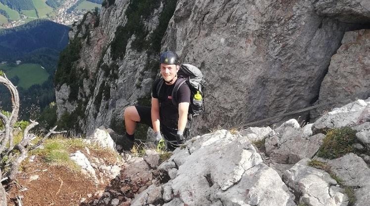 Patrick in Graz back image